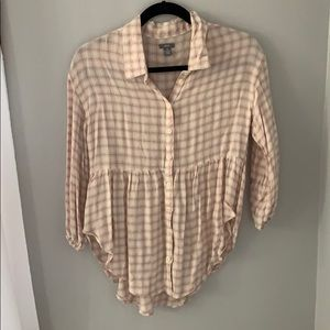 Soft Aerie Flannel Top